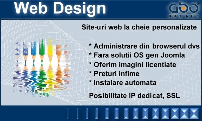 Web Design CLASIC Hosting romania .ro .com